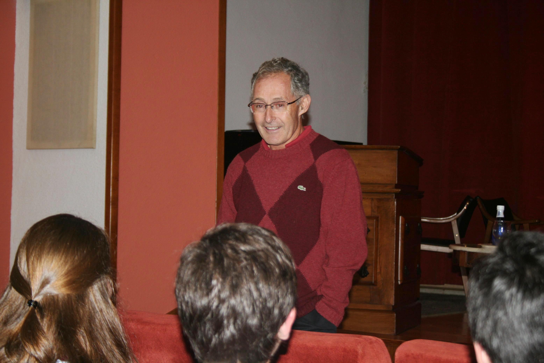 Inauguración del Curso de Introducción a las Especilaidades Médicas, con la conferencia del Dr. Ángel Carracedo, Catedrático de Medicina Legal de la Universidad de Santiago