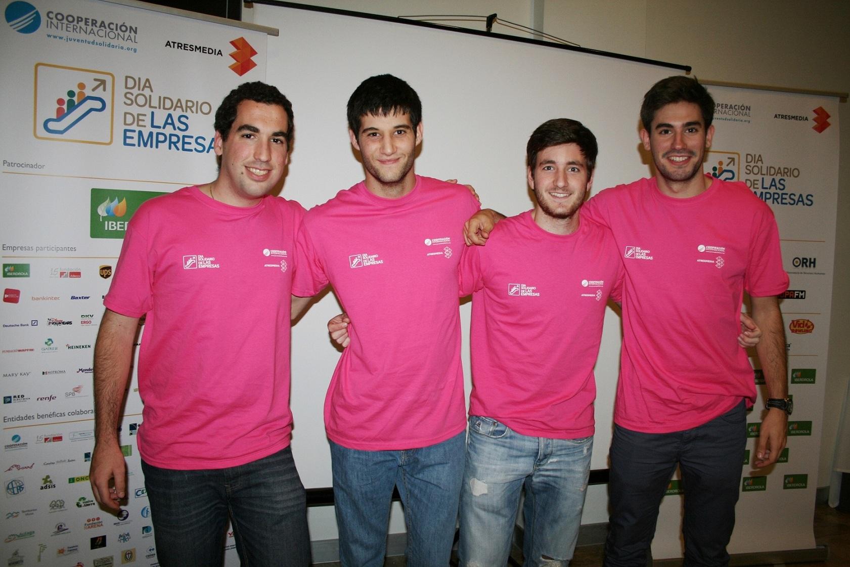 2014: El Colegio Mayor promueve diferentes iniciativas de voluntariado para estudiantes universitarios