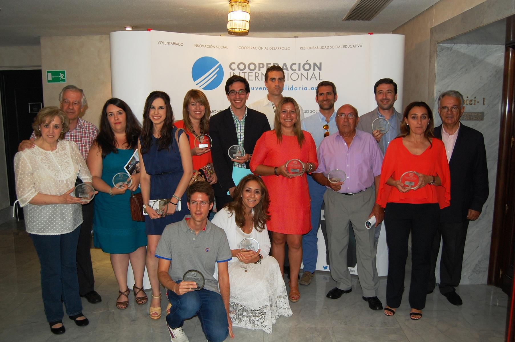 La ONG Cooperación Internacional concede al Colegio Mayor La Estila el premio a la agrupación territorial más solidaria de 2015