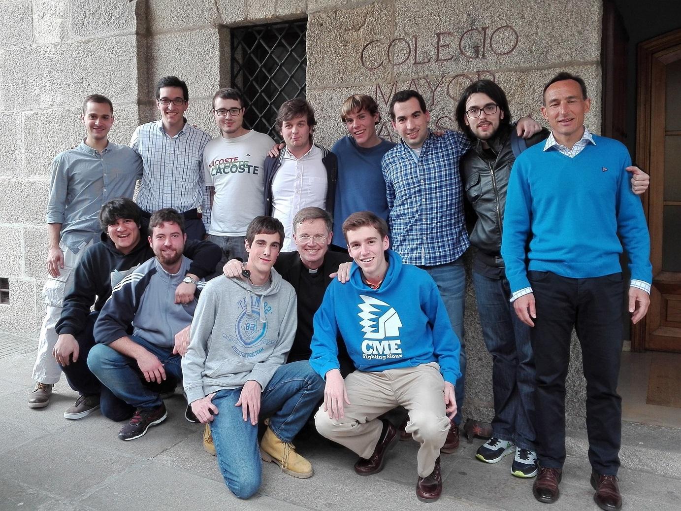 Residentes del Colegio Mayor viajan a Roma para participar en el Congreso UNIV´16