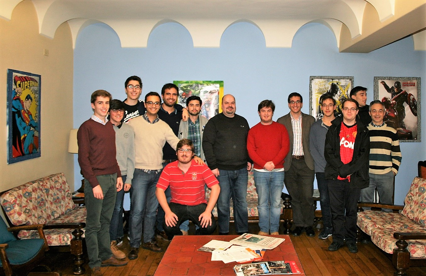 Marcus Fernández participa en la Semana del Superhéroe del Colegio Mayor