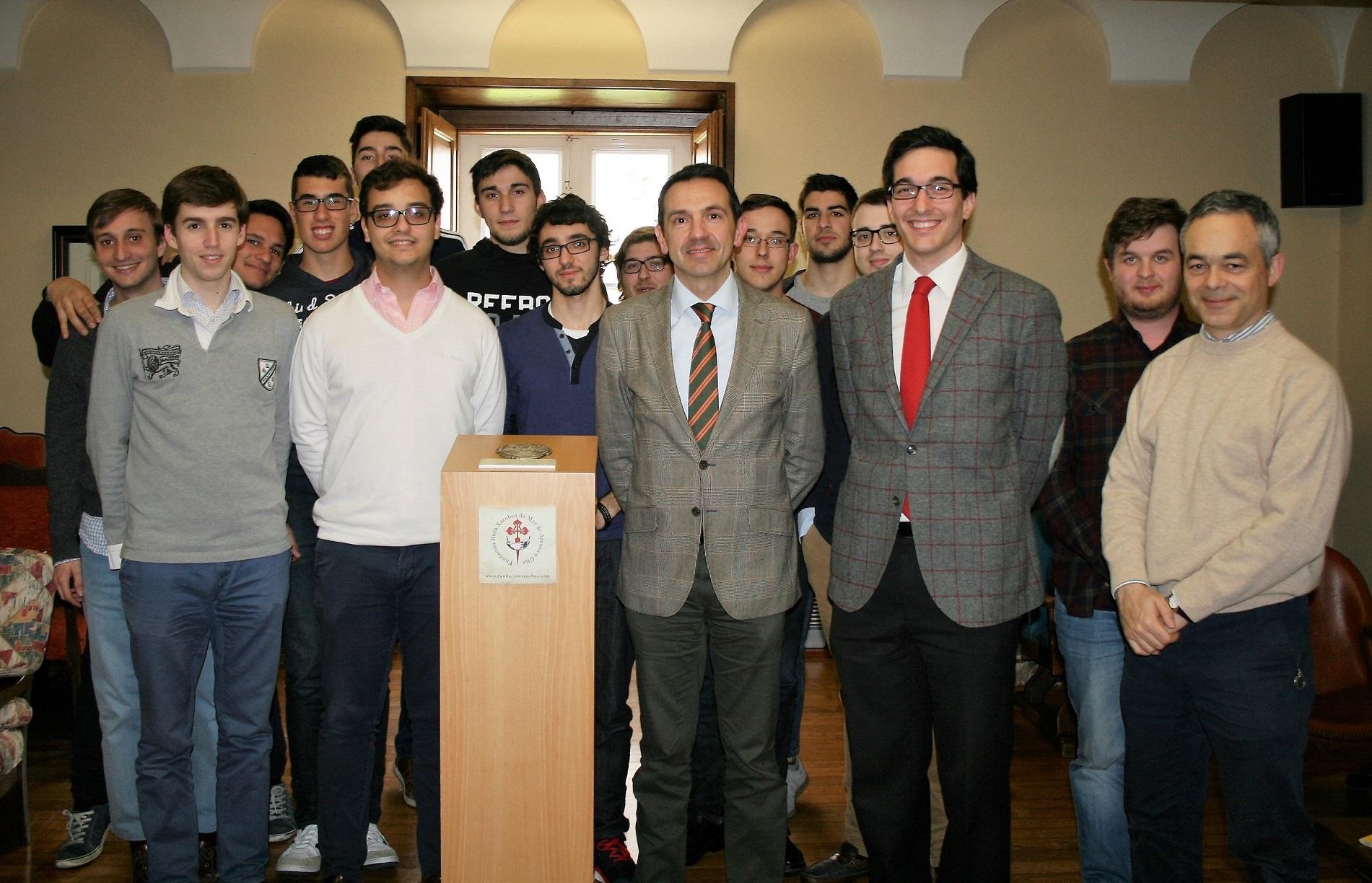 Tertulia en el Colegio Mayor sobre la Ruta Jacobea del Mar de Arousa